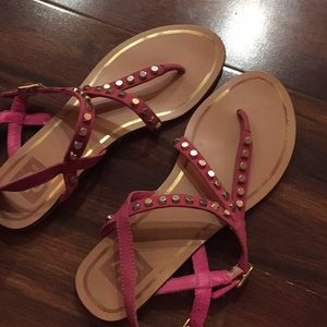 💕 Pink Dolce Vita Sandals Size 7.5